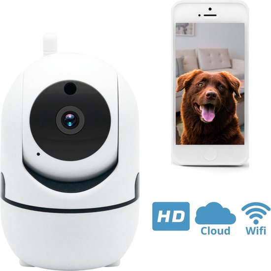Huisdiercamera - Hondencamera - Camerabewaking - Beveiligingscamera - IP Camera