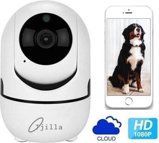 Huisdiercamera / Hondencamera Tjilla® - WiFi - Notificatie - Tweerichtingsaudio - Beveiligd