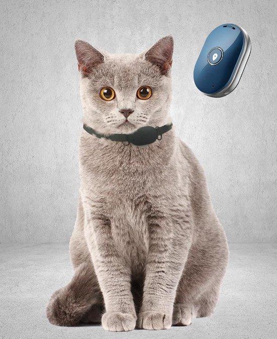 Reptrek® Minitrek GPS Tracker Voor Hond En Kat - Blauw - 4.9 x 3.3 x 1.5 cm